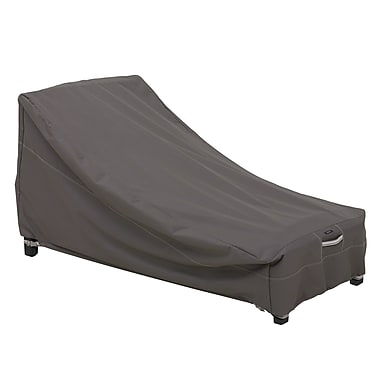 Classic Accessories® Ravenna® Day Chaise Cover, Dark Taupe, Large