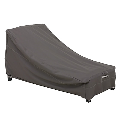 Classic Accessories® Ravenna® Day Chaise Cover, Dark Taupe, Medium