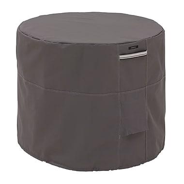 Classic Accessories® Ravenna® Patio Round Air Conditioner Cover, Dark Taupe