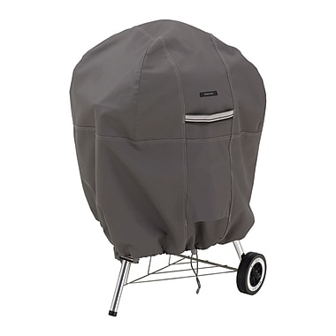 Classic Accessories® Ravenna® Patio Kettle Grill Cover, Dark Taupe