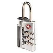 Samsonite® 3 Dial Travel Sentry Combo Lock, Silver