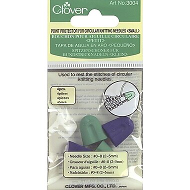 Point Protectors For Circular Knitting Needles