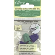 Point Protectors For Circular Knitting Needles, For Sizes 0-8