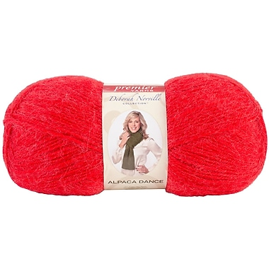 Deborah Norville Collection Alpaca Dance Yarn, Red Haze