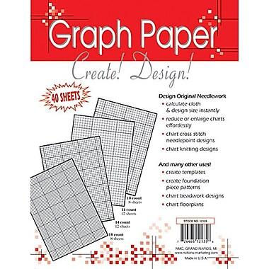 Needlework Graph Paper 8-1/2