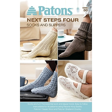 Next Steps Four: Socks and Slippers