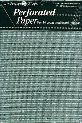 Perforated Paper 14 Count 9