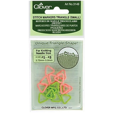 Triangle Stitch Markers Small, Sizes 5-8