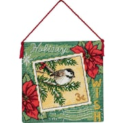 """Gold Collection Petites Wish Ornament Counted Cross Stitch K-4-1/2""""X4-1/2"""" 18 Count"""