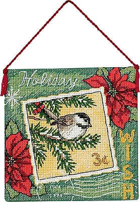 Gold Collection Petites Wish Ornament Counted Cross Stitch K-4-1/2