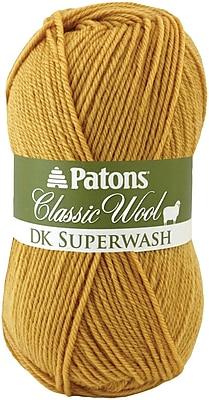 Classic Wool DK Superwash Yarn, Gold