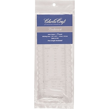 Lace-Edged Bookmark, White