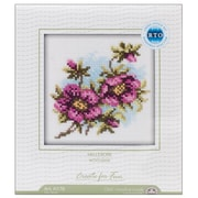 """Hellebore Counted Cross Stitch Kit, 4""""X4"""" 14 Count"""