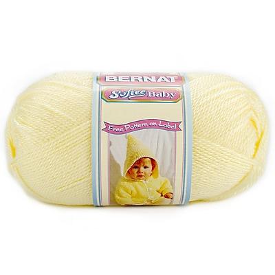 Softee Baby Yarn, Solids, Lemon
