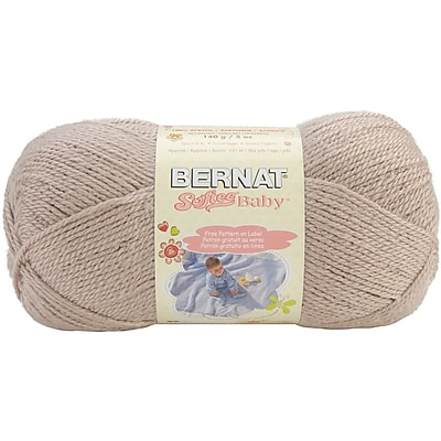 Softee Baby Yarn, Solids, Little Mouse
