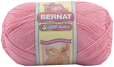 Softee Baby Yarn, Solids, Prettiest Pink