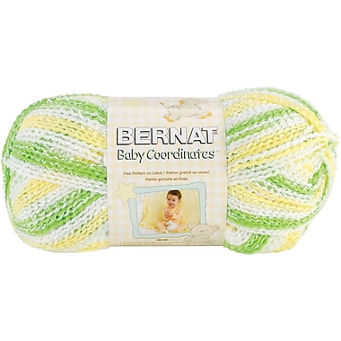 Baby Coordinates Yarn, Ombres, Lemon Lime