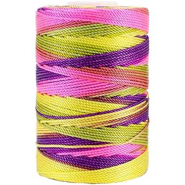 Nylon Thread Size 18, Bright Pastel Mix