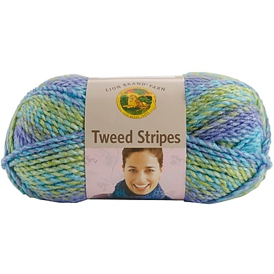 Tweed Stripes Yarn, Lakeside