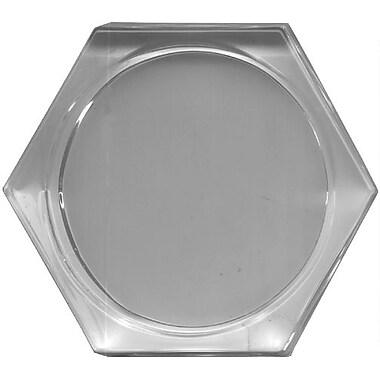 Acrylic Paper Weight, Hexagon