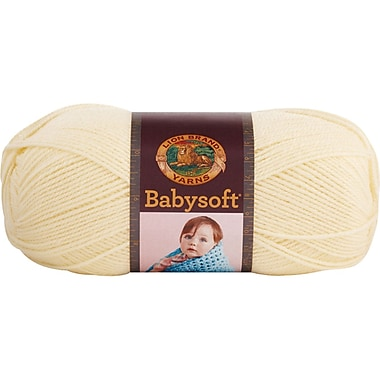 Babysoft Yarn, Pastel Yellow