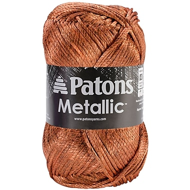 Metallic Yarn, Orange
