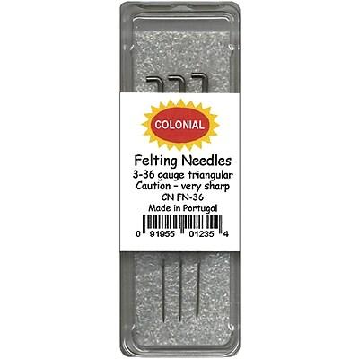 Felting Needles Size 36 Triangle