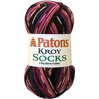 Kroy Socks Yarn, Mulberry Stripes