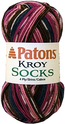 Kroy Socks Yarn, Mulberry Stripes