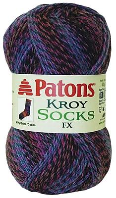 Kroy Socks FX Yarn, Camo Colors