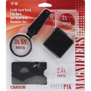 ValuePak Magnifiers, 3 Pieces