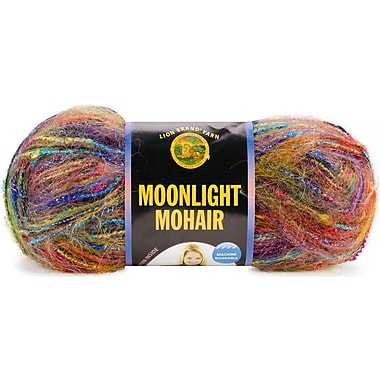 Moonlight Mohair Yarn, Rainbow Falls