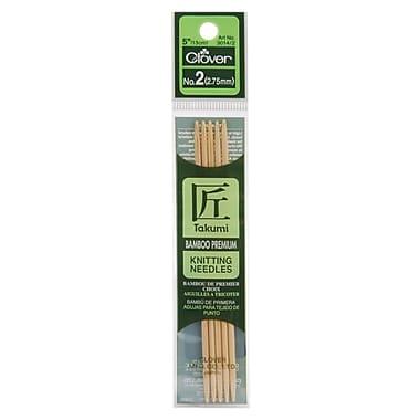 Takumi Bamboo Double Point Knitting Needles 5