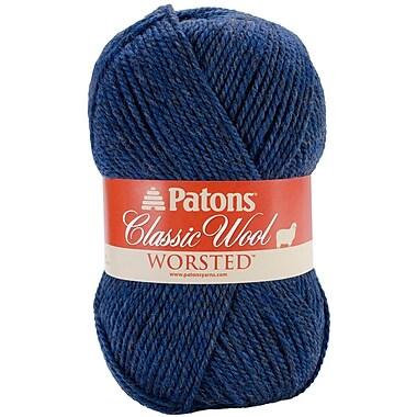 Classic Wool Yarn, Blue Heather
