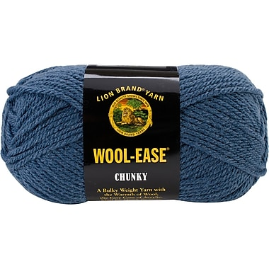 Wool, Ease Chunky Yarn, Indigo