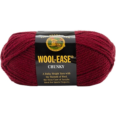 Wool, Ease Chunky Yarn, Mulberry
