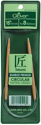 Takumi Bamboo Circular Knitting Needles 16