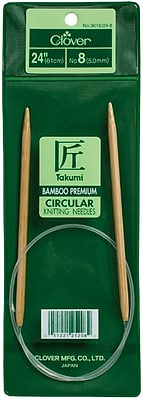 Takumi Bamboo Circular Knitting Needles 24