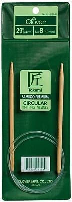 Takumi Bamboo Circular Knitting Needle 29