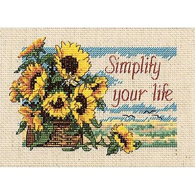 Jiffy Simplify Your Life Mini Counted Cross Stitch Kit, 7