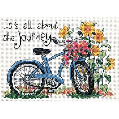 The Journey Mini Counted Cross Stitch Kit, 7