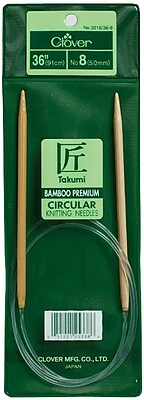 Takumi Bamboo Circular Knitting Needles 36