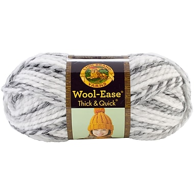 Wool-Ease Thick & Quick Yarn, Marble Stripes