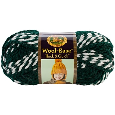 Wool-Ease Thick & Quick Yarn, Spartans Stripes