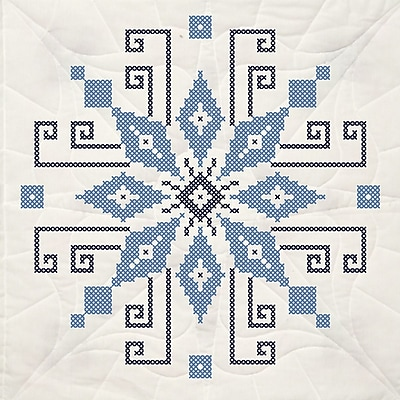 Stamped Quilt Blocks 18