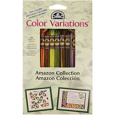 DMC Color Variations Floss Pack, Amazon