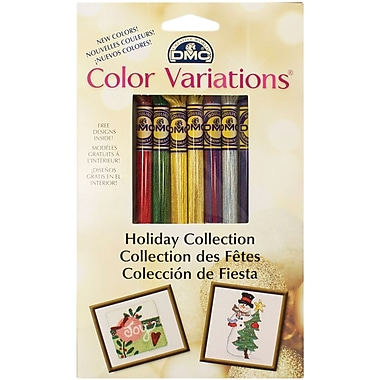 DMC Color Variations Floss Pack, Holiday