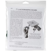 "Kumihimo Braiding Board Kit, 5-1/2""X5-1/2""X1/2"""