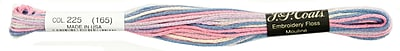 C&C Six Strand Embroidery Floss 8.75 Yards, Pastels