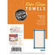 "Vintage Stripe Towel 18""x28"""